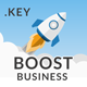 Boost Business Keynote Template - GraphicRiver Item for Sale