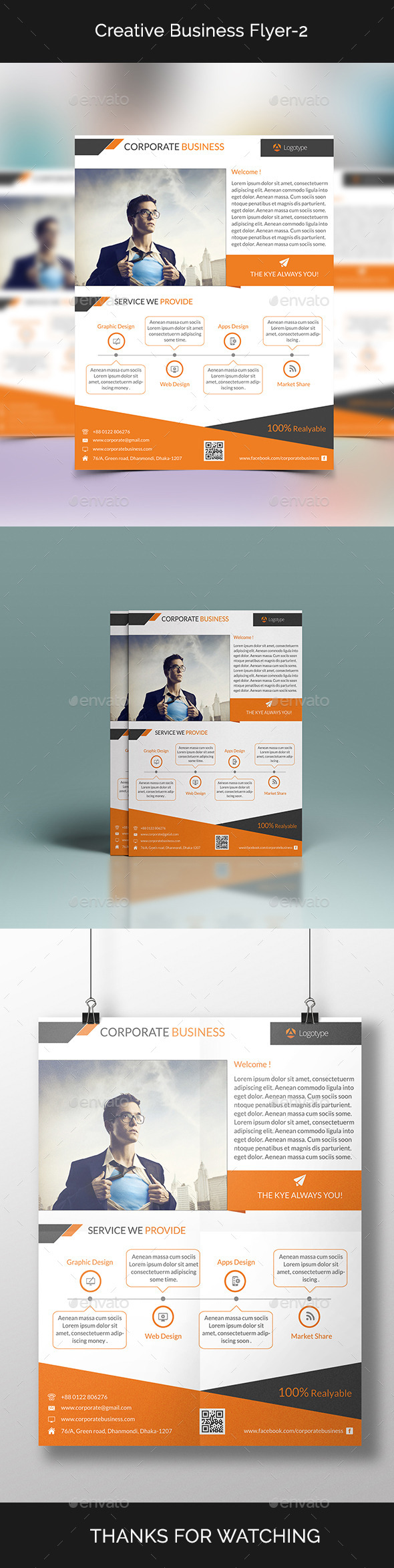 GraphicRiver Creative Business Flyer-2 10948884