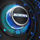 Mining Controller on Black Control Console. - PhotoDune Item for Sale