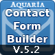 Aquaria contact form builder 5 - CodeCanyon Item for Sale