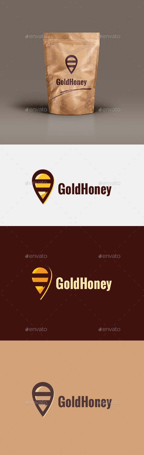 GraphicRiver Honey Logo 10949569