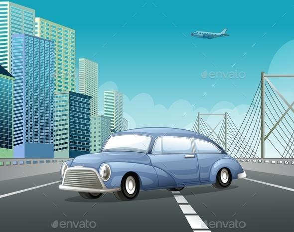 GraphicRiver Classic Car 10950191