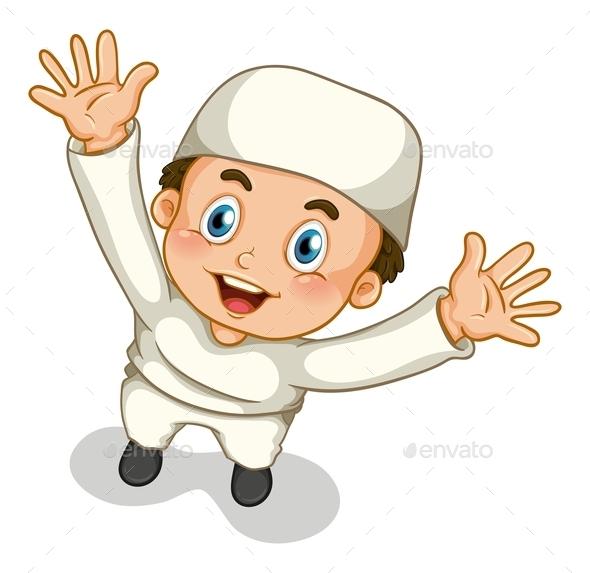 GraphicRiver Muslim Boy 10950332