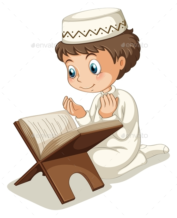 GraphicRiver Muslim Praying 10950402