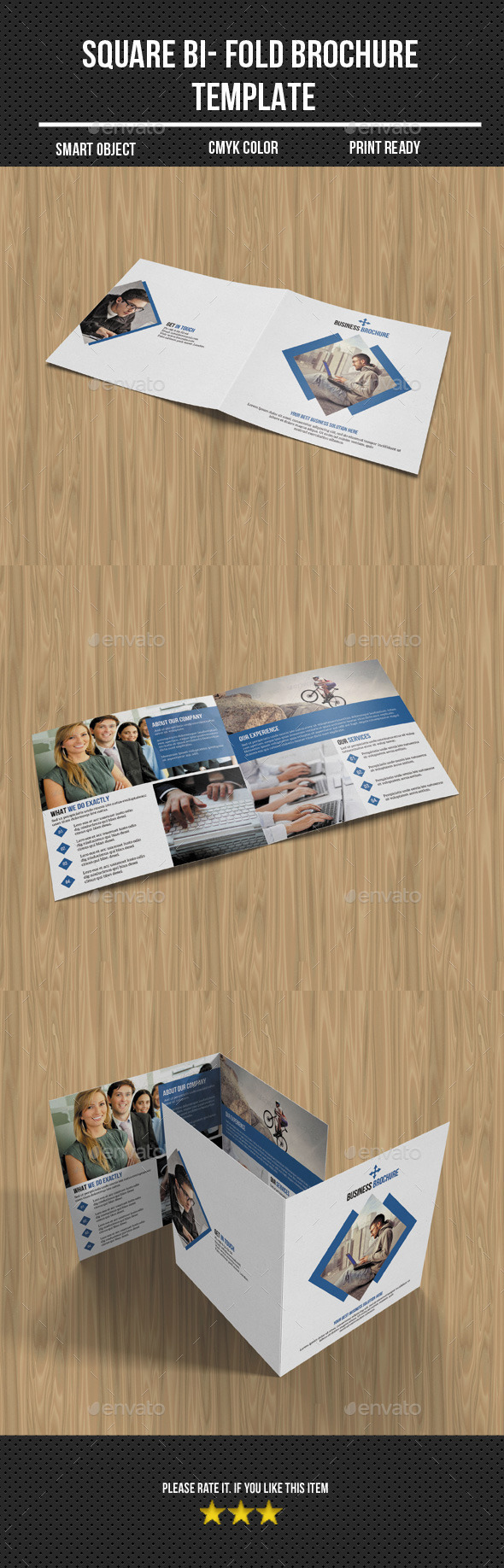 GraphicRiver Corporate Bi-Fold Business Brochure 10950501