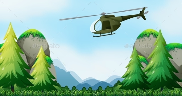 GraphicRiver Copter 10950542