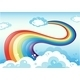 Rainbow and Sky - GraphicRiver Item for Sale