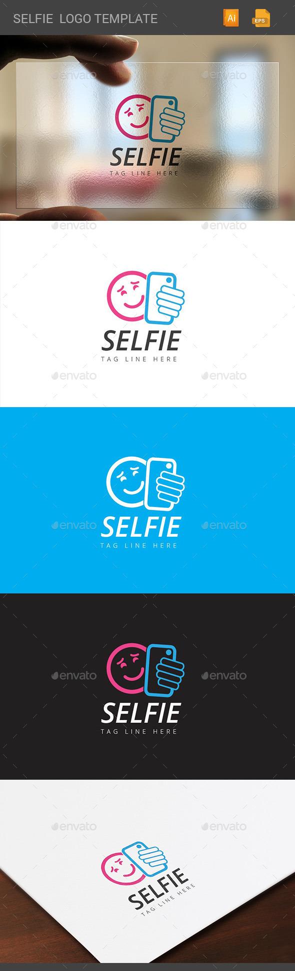 GraphicRiver Selfie Logo 10950637