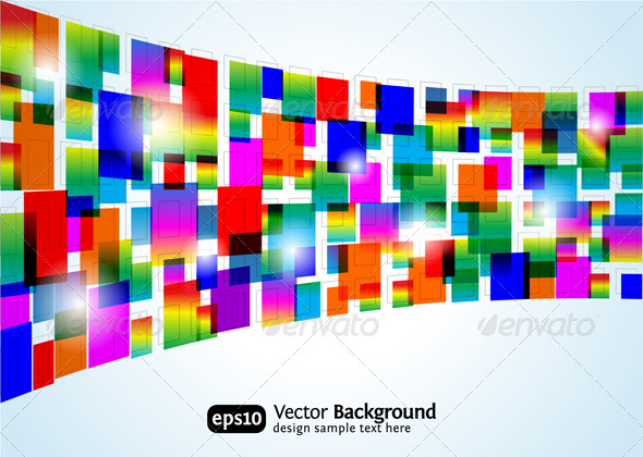GraphicRiver Abstract colorful background 135916