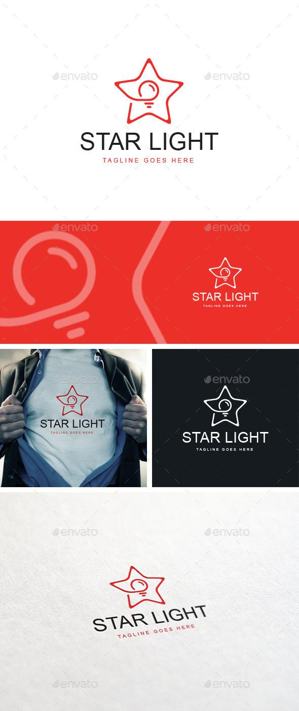 Star Light Logo Template