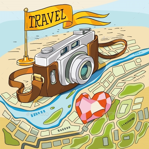 GraphicRiver Travel 10951129