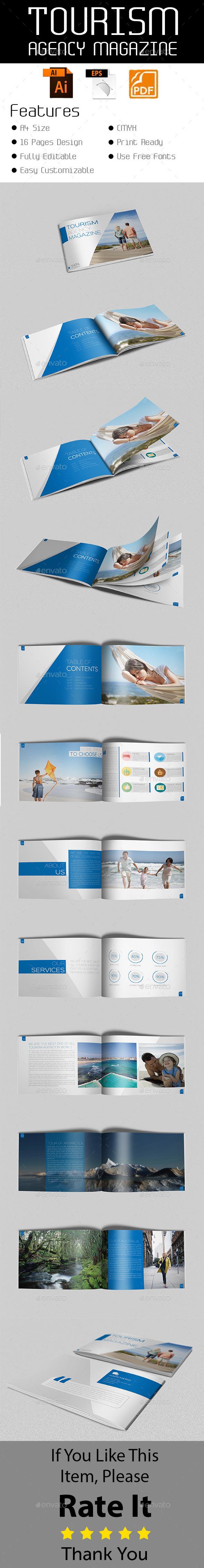 GraphicRiver Tourism Agency Magazine 10951750