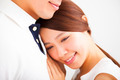 Happy Smiling young Couple in love - PhotoDune Item for Sale