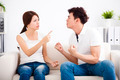 Quarrel between girlfriend and  boyfriend - PhotoDune Item for Sale
