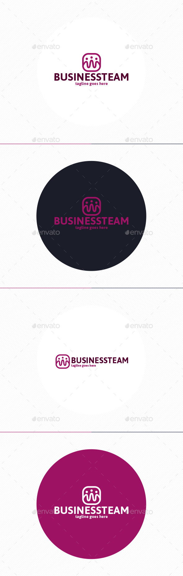 GraphicRiver Business Team Logo 10952449