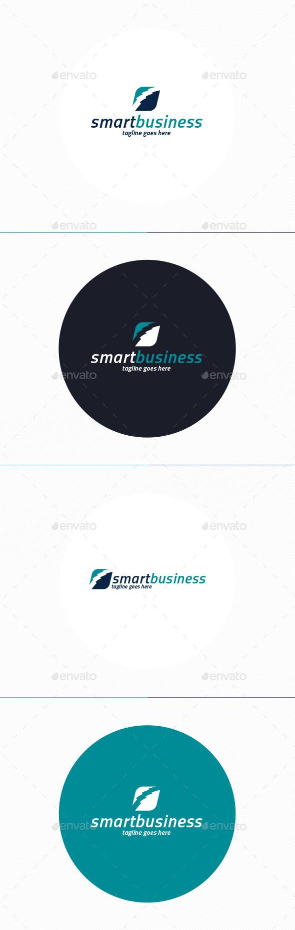 GraphicRiver Smart Business Logo 10952457