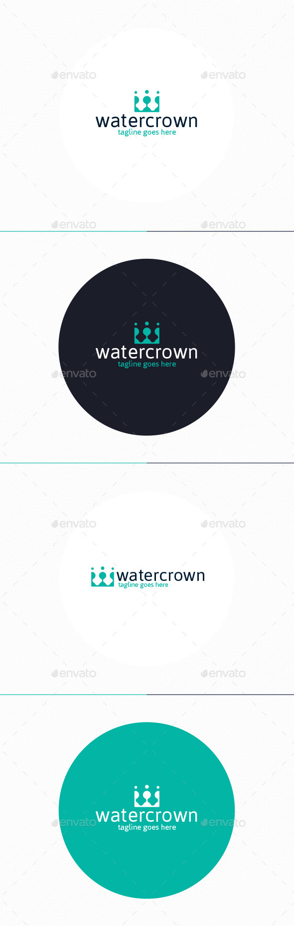 Water Crown Logo