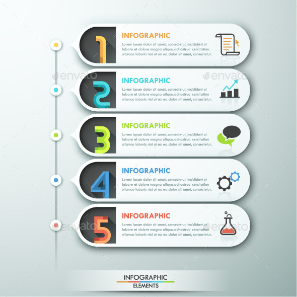 GraphicRiver Modern Infographic Paper Template 10952643