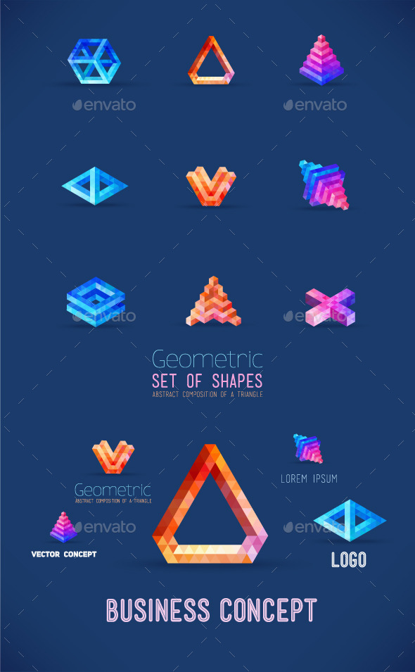 GraphicRiver Geometric Shapes 10952975