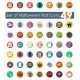 Set of Halloween Flat Icons - GraphicRiver Item for Sale