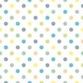 Tile pattern with polka dots on white background - PhotoDune Item for Sale