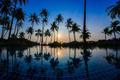 Swimming pool with sunrise - PhotoDune Item for Sale