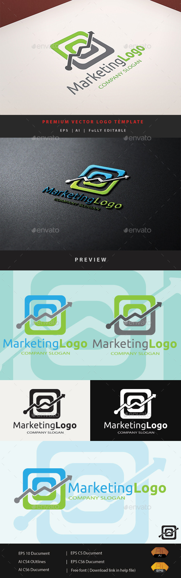 GraphicRiver Marketing Logo 10953615