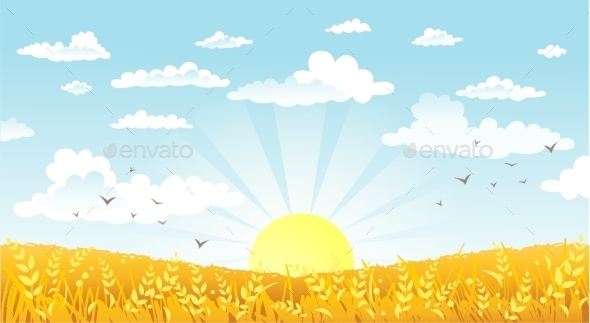 GraphicRiver Countryside 10953827