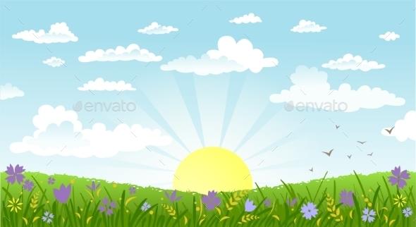GraphicRiver Countryside 10953828