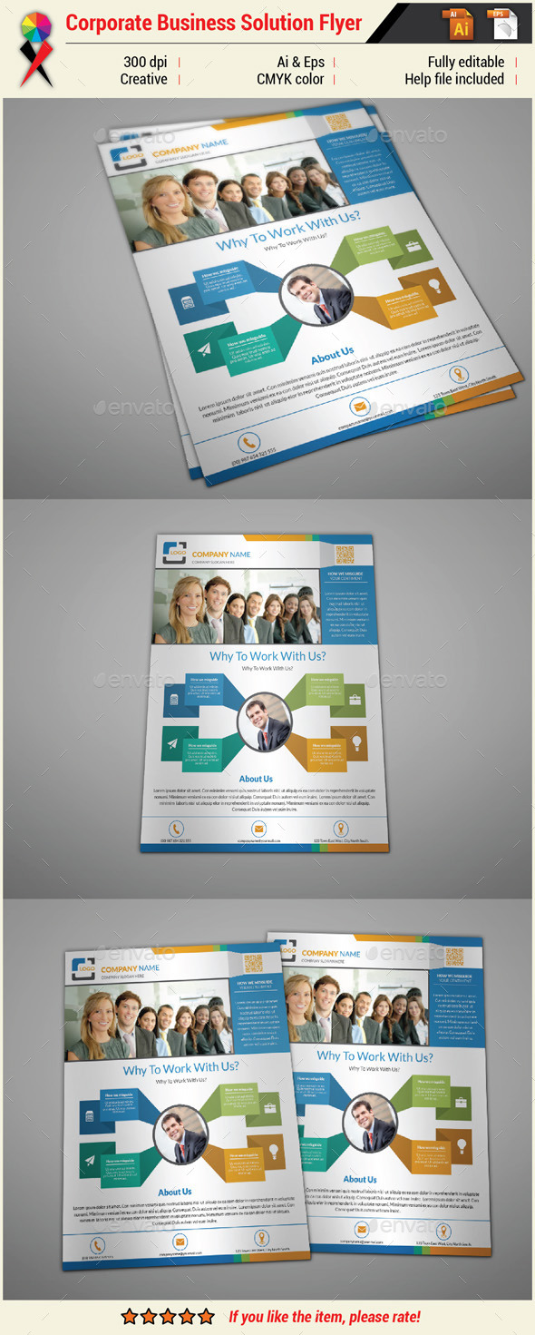 GraphicRiver Multipurpose Creative Infographic Flyer 10954032