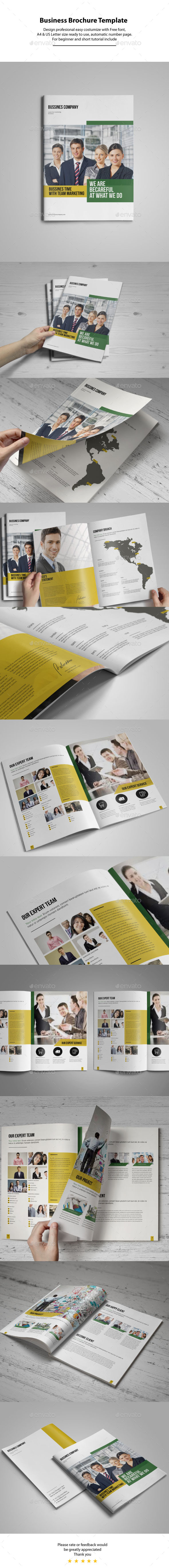 GraphicRiver Business Brochure Template 10954219