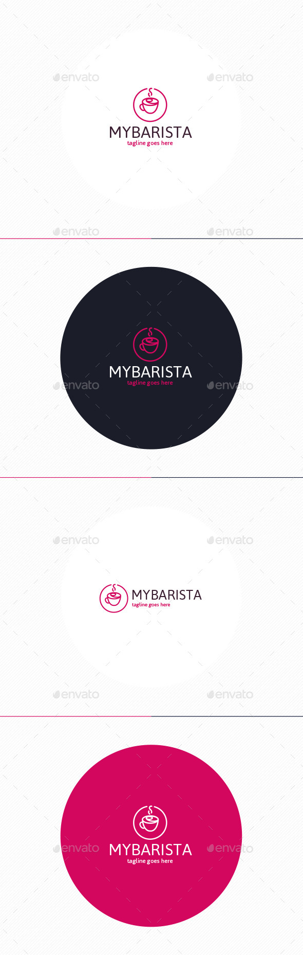 GraphicRiver My Barista Logo 10954220