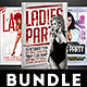 Ladies Love Party Flyers Bundle - GraphicRiver Item for Sale