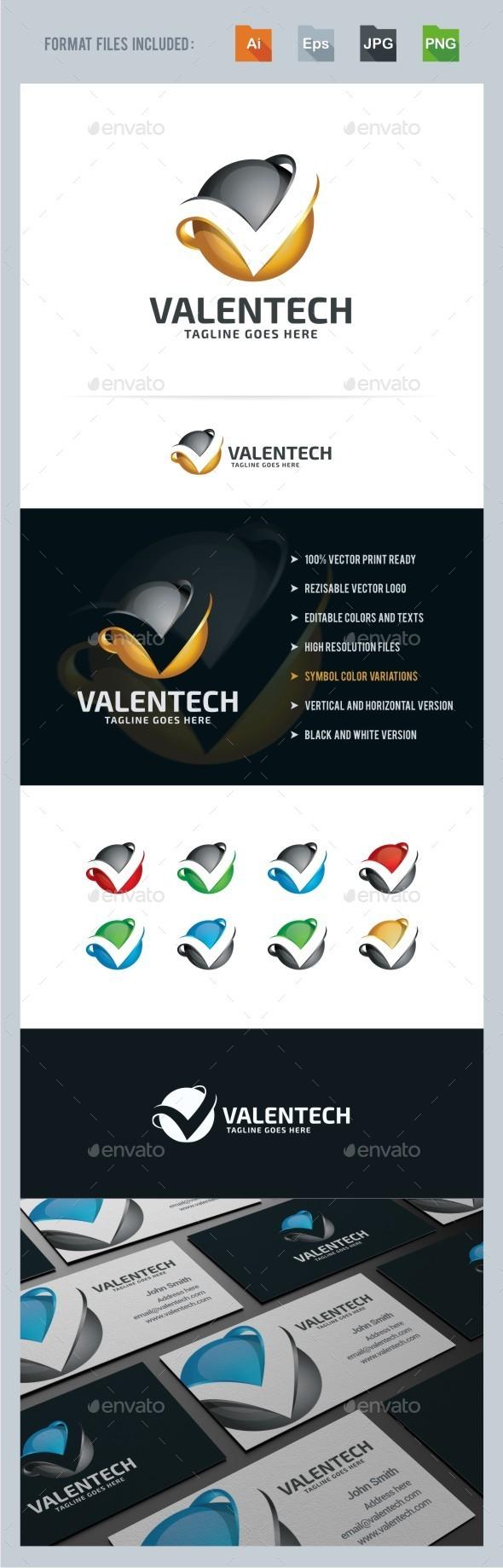 GraphicRiver V Letter 3D Sphere Logo Template 10954335