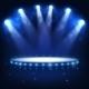 Illuminated Podium for Presentation in the Dark. - GraphicRiver Item for Sale