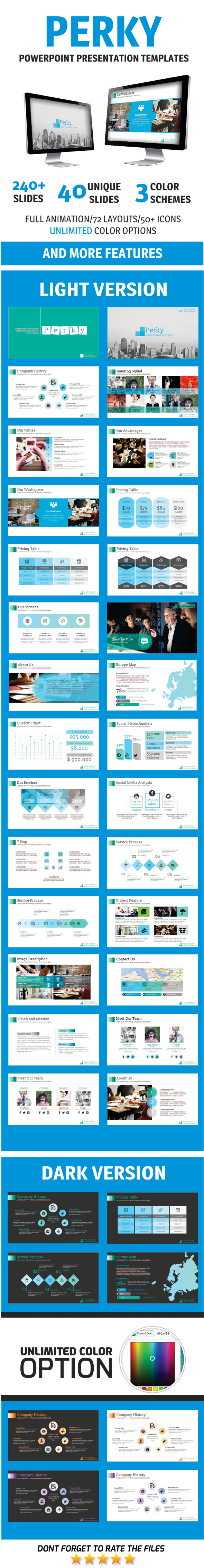 GraphicRiver Perky PowerPoint Template 10954502