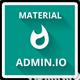 Admin.io - Responsive Material Design Admin - ThemeForest Item for Sale