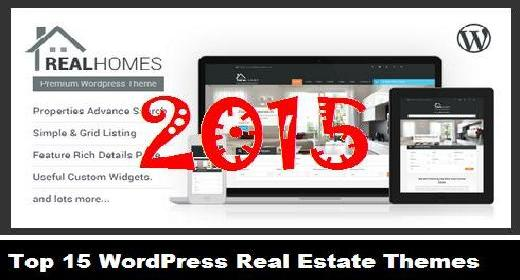 Top 15 WordPress Real Estate Themes