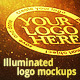 Illuminated Logo Mockups - GraphicRiver Item for Sale