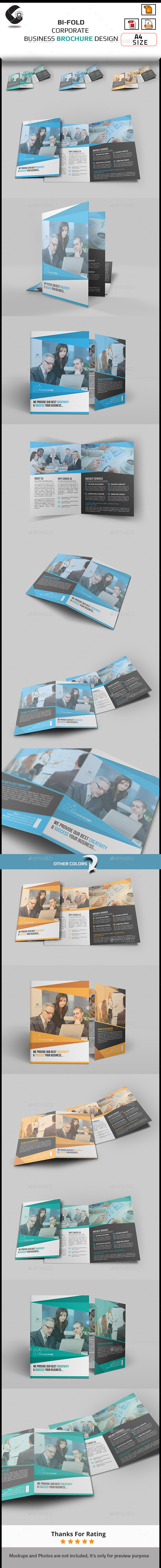 GraphicRiver Corporate Brochure Design 10955182