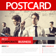 Best Corporate Business Postcard - GraphicRiver Item for Sale