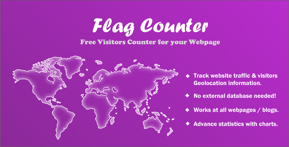 CodeCanyon Flag Counter Advance Visitors Counter 10955463