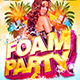 Foam Party Flyer Template - GraphicRiver Item for Sale