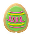 Easter Egg Cookie isolated - PhotoDune Item for Sale