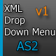 XML Bounce Up Menu - AS2 - ActiveDen Item for Sale