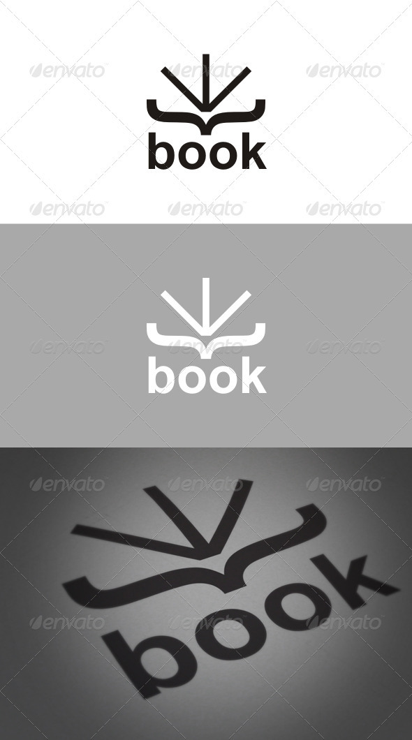 Book Logo - Symbols Logo Templates