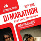 DJ Marathon Night Rollup Banner 42 - GraphicRiver Item for Sale