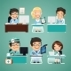 Doctors at the Table - GraphicRiver Item for Sale