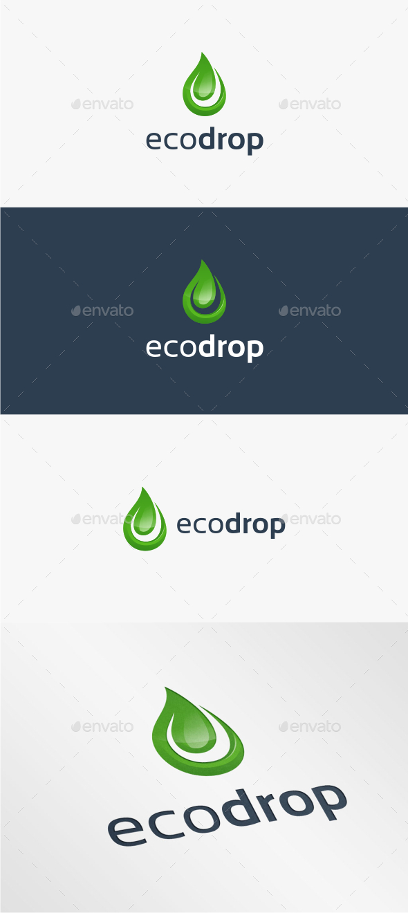 Eco Drop - Logo Template