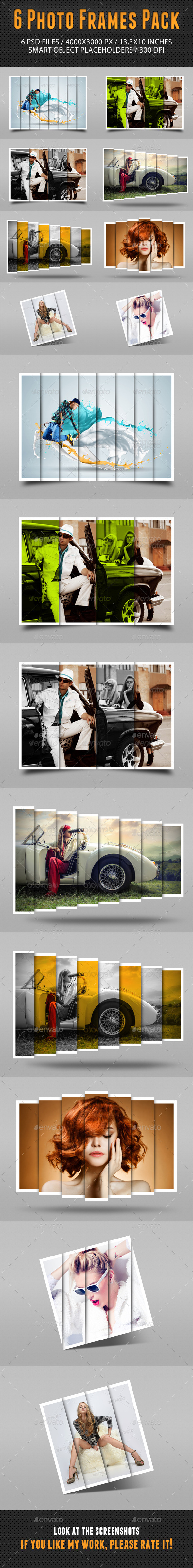 GraphicRiver Photo Frames Pack 14 10957319